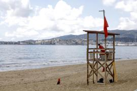 Stadtstrände von Palma de Mallorca nach Dauerregen geschlossen