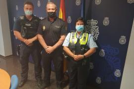 Deutsche Polizisten in Palma verabschiedet