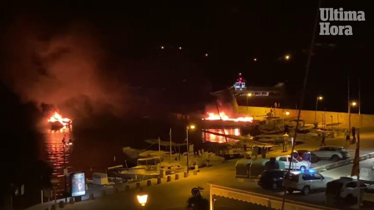 Drei Boote gleichzeitig in Yachthafen auf Mallorca abgebrannt
