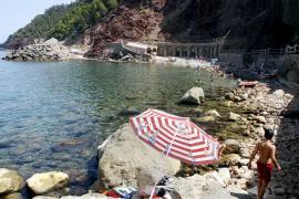 Strandtipp des Tages: die Cala Estellencs