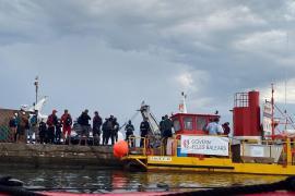 Flüchtlingsboote kommen in Cala Figuera und Cabrera an