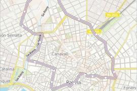 Neue Gratis-Buslinie für alle in Innenstadt von Palma