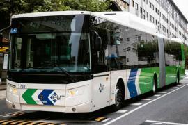 Nackte Frau in Stadtbus in Palma festgenommen