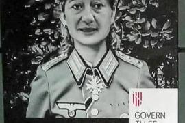 Plakate mit Mallorca-Regierungschefin in Naziuniform aufgetaucht