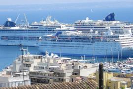 92 Kreuzfahrtschiffe legen bis Ende des Jahres in Palma an