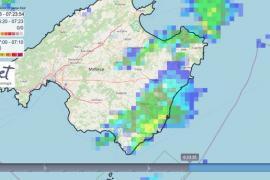 Am Donnerstagmorgen schüttete es vor allem im Insel-Südosten.