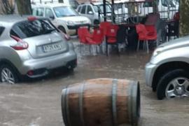So sah es am Donnerstagvormittag in Llubí aus.