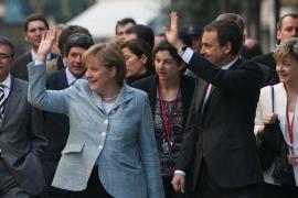 Merkel und Zapatero