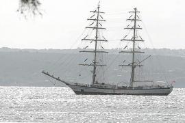 """Polnische Schulschiff """"Fryderyk Chopin"""" macht vor Palma Halt"""