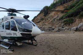 Mann stürzt zehn Meter tiefe Böschung in Alcúdia hinunter