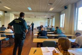 441 Personen nehmen auf Mallorca an Aufnahmeprüfung der Guardia Civil teil