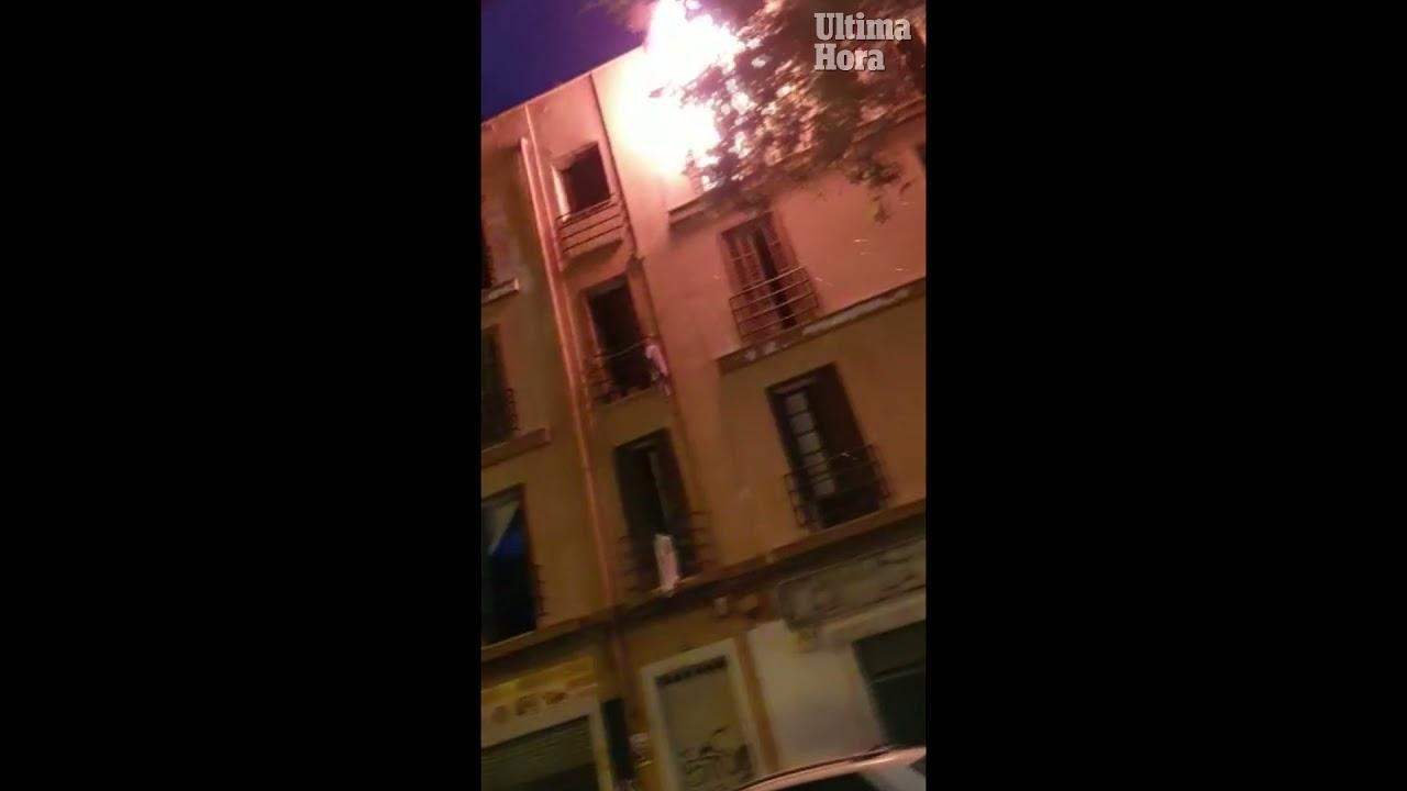 """Feuer im gefährlichsten """"Okupa""""-Haus von Palma"""