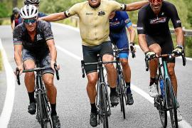 Lance Armstrong und Jan Ullrich radeln gemeinsam auf Mallorca