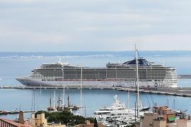 Reederei MSC fährt Palma wieder mit Riesen-Kreuzfahrtschiff an