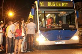 Palma setzt wieder Nachtbusse ein