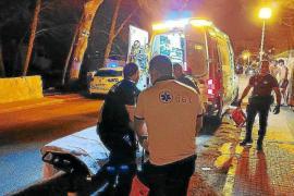 Mann bei Brand in Cala Rajada verletzt