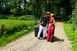 Stephan Jerkel und Peggy Jerofke wollen Promipaar des Jahres werden.