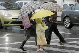 Ein Regenschutz war am Montag bitter nötig.