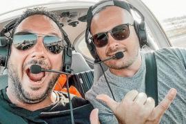 Mit dem Kleinflugzeug nach Mallorca: Zwei Piloten und ein Abenteuer