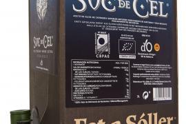 Suc de Cel Olivenöl im Familienpack: 3 Liter oder 1,5 Liter Bag in Box, lichtgeschützt mit Ausschankhahn.