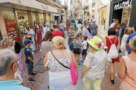 Auffallend viele deutsche Touristen beleben derzeit Palma