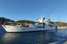 Netflix-Dreh wird auf Luxusyacht in Port de Sóller fortgesetzt