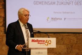 Mark Wössner bei seinem Vortrag.