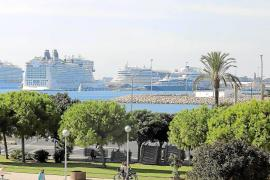 Rund 500 Kreuzfahrtschiffe in der kommenden Saison auf Mallorca erwartet