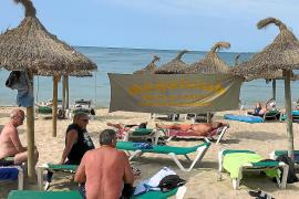 Playa de Palma auch in der zweiten Oktoberhälfte noch immer recht voll