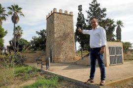 Okupas besetzen auf Mallorca Reste von Mühlengebäuden