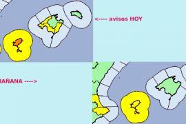 Warnstufe Gelb nach Wetterumschwung auf Mallorca