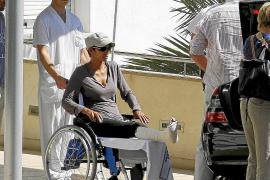 Pech für Halle Berry: Unfall in Sóller