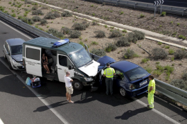 Geisterfahrer kollidiert mit Guardia Civil