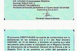 """""""Ausländer-Zertifikat"""" im handlichen Kartenformat"""