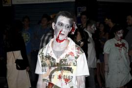 "Zombies und Teufel zum Abschluss des Festivals ""Mallorca Fantástica"" in Inca"
