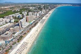 rotorflug vistas aereas helicoptero playa de palma