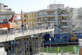 Porto Cristo – Brücke wird in Stücke geschnitten