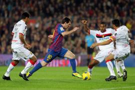 Barça zu stark für Inselkicker