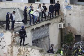 Polizei räumt Haus