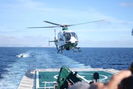 GSG 9 übt vor Mallorcas Küste