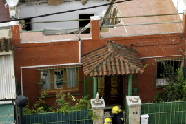 Dach in Palma eingestürzt