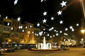 Freitag gehen in Palma die Lichter an