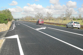 Llucmajor – Ausbau der Straße nach S'Estanyol für 233.000 Euro