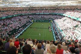 Nadal schlägt 2012 in Halle/Westfalen auf