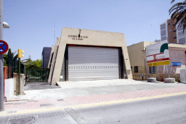 Playa-de-Palma-Feuerwehrwache im Winter geschlossen