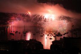 Zum Abschluss ein Feuerwerk