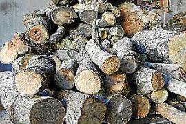 Holz für den Kamin