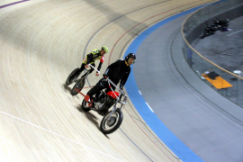 velodromo palma arenastayer Steherrennen  en la moto  Toni Mora