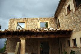 Häuserabriss in Llucalcari
