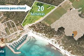 LA PROMOTORA DE SA RAPITA BUSCA APOYO SOCIAL Y DE ECOLOGISTAS PARA CONSTRUIR UN HOTEL INVISIBLE.